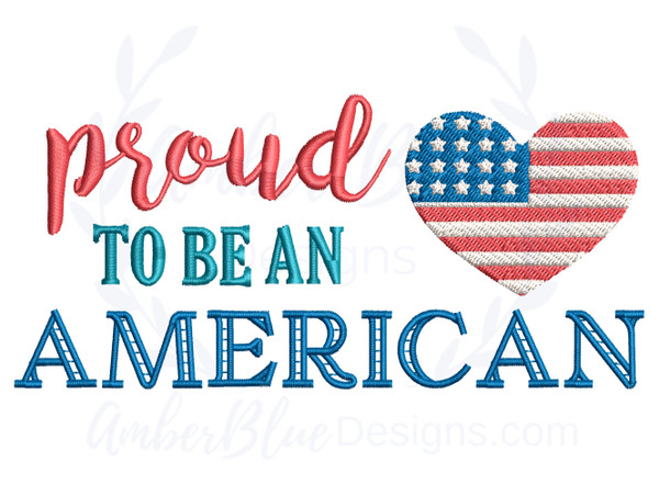 Proud To Be An American, Heart Flag