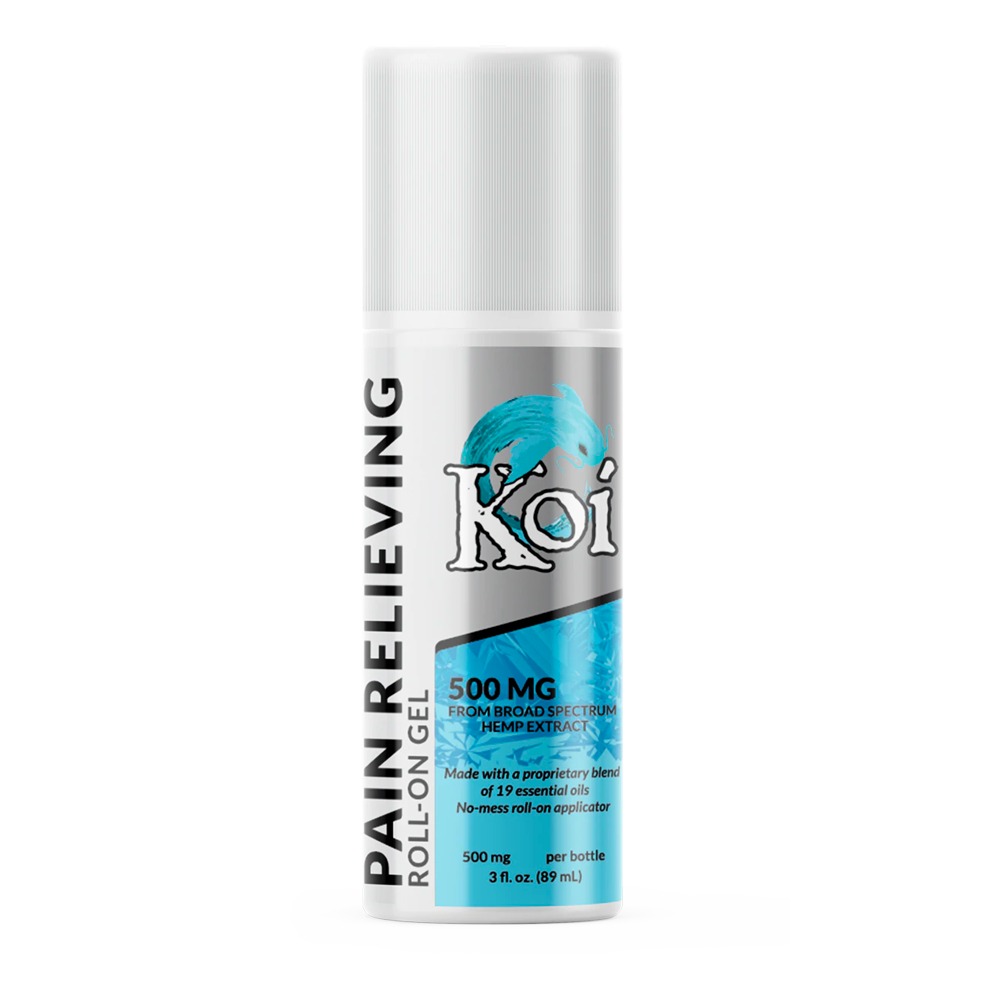 Koi Hemp Extract Pain Relieving Gel Roll-On
