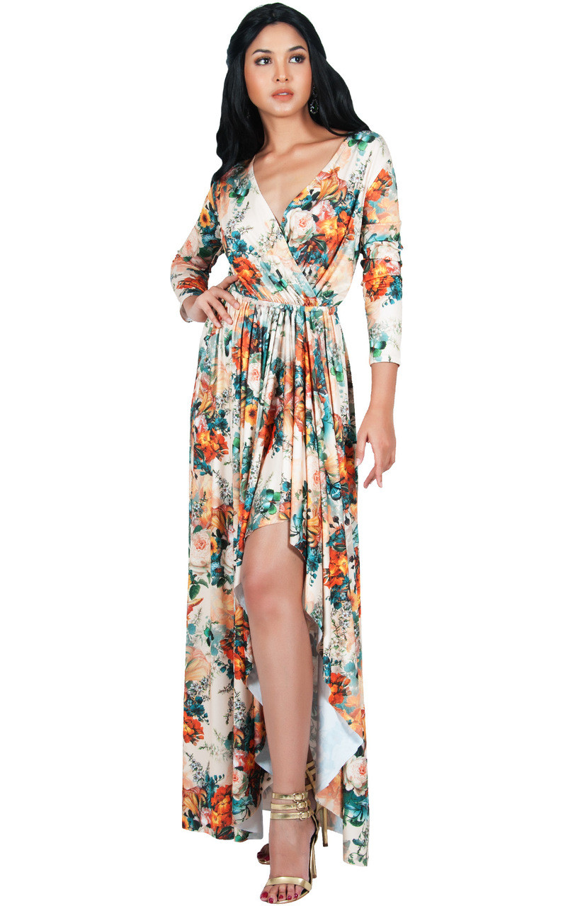 dress - Maxi casual dresses with sleeves photo video