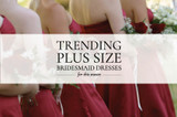 Trending Plus Size Bridesmaid Dresses This Year