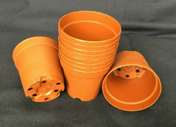 Plastic Pots, MXC5.5, Poppelmann 5.5 cm. Lot of 10 New