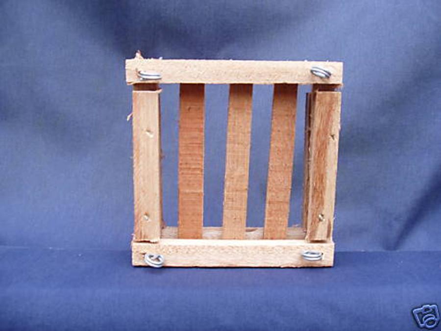 "Wood Raft 6"" Square"