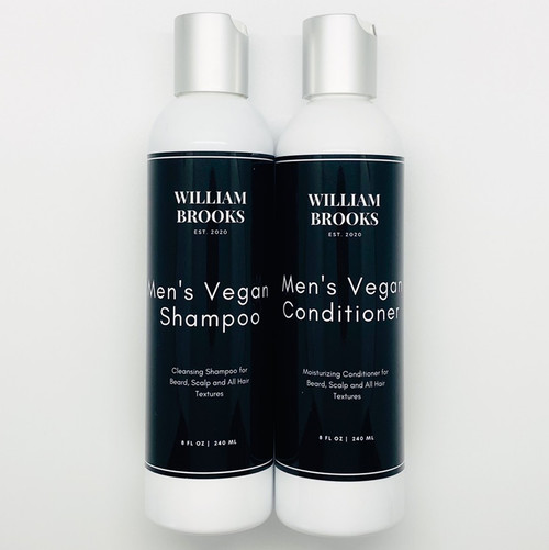 Men's Vegan Shampoo | Conditioner Duo