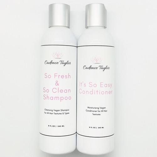 *Sample Set* Women's Vegan Shampoo | Conditioner Duo (Fine Hair)
