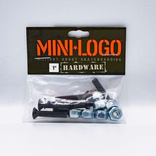 "Mini Logo Hardware - 1"""