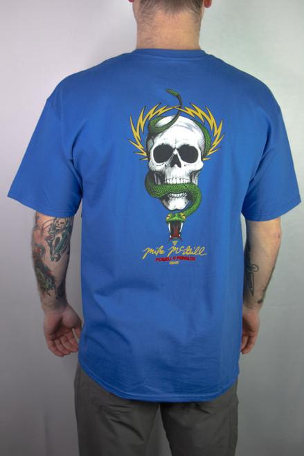 Powell Peralta - McGill Skull & Snake - Blue