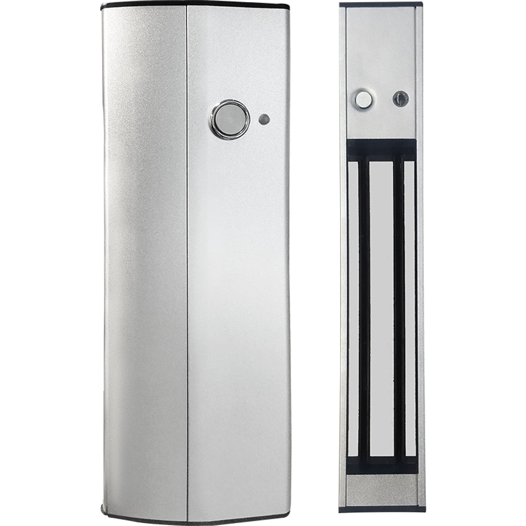 Magnetic lock center door handle (holding force 600 lbs)