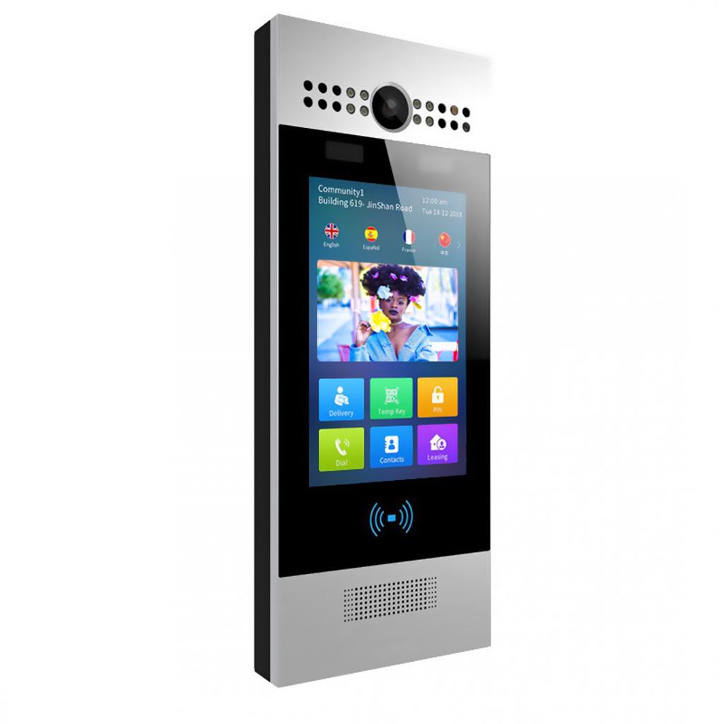 "SIP Video Intercom 7"" capacitive touch screen - Canada"