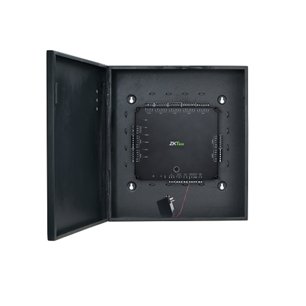 Bundle 4 door Access Control Panel with Metal Cabinet