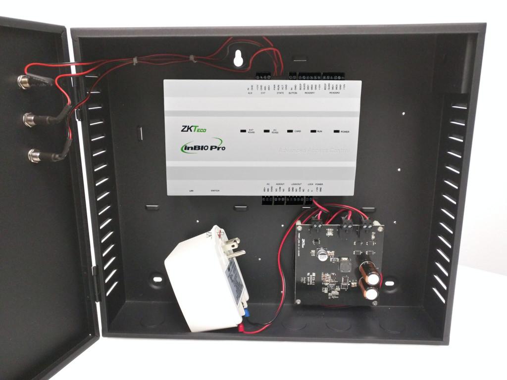 Zkteco Biometric Access Control 1 Door - Zkteco Controle D'Acces Biometrique 1 porte