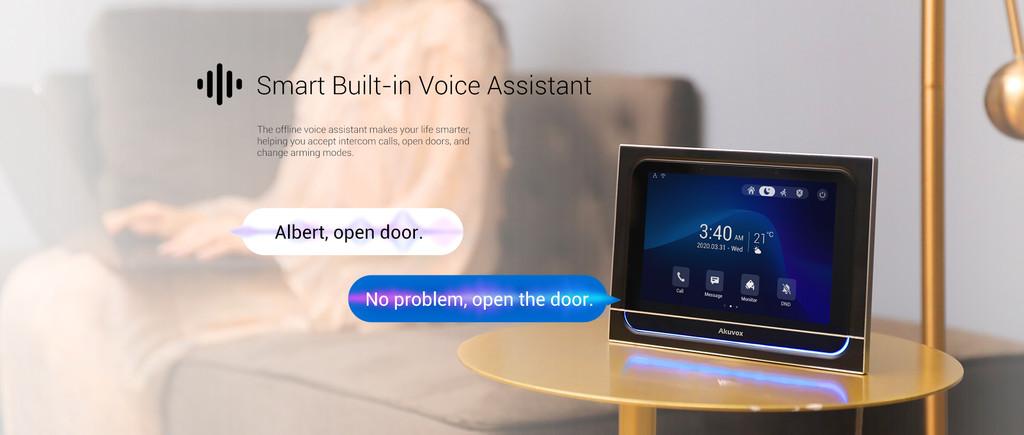 Akuvox Luxury Smart Indoor Monitor