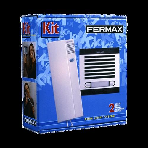 Fermax audio Kit 2 Apts 4+N-Kit audio Fermax 2 Apts 4 + N