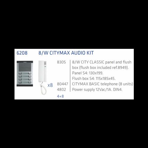 Fermax Interphone audio Kit 8 Apts 4+N-Interphone Fermax Montreal