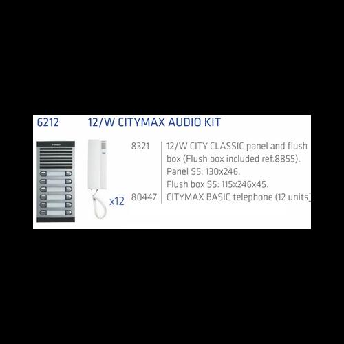 Fermax 4+n Kit Audio intercom 12 apts