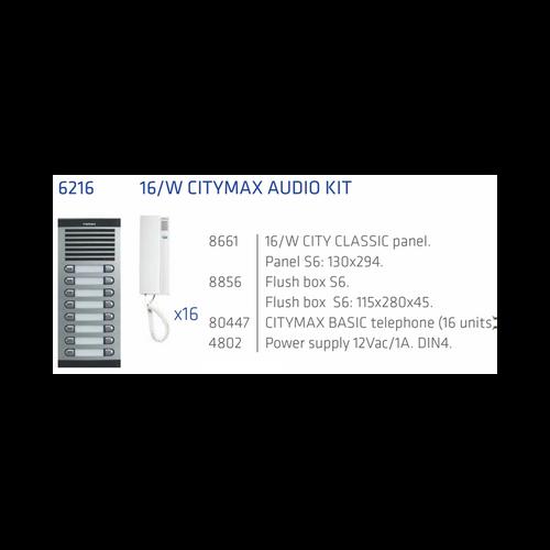 Fermax installers audio intercom kit 16 Apts 4+n-Installateurs intercom Fermax audio kit