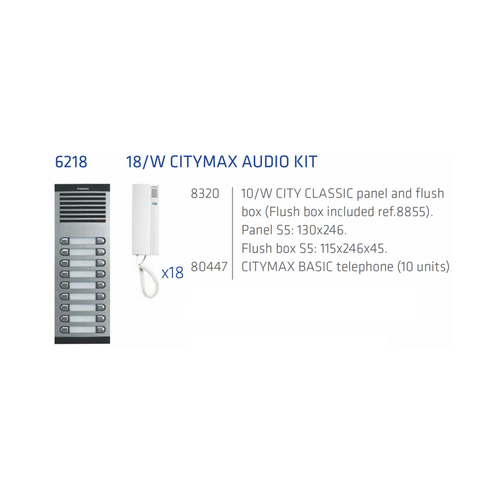 Fermax interphone audio 18 Apts 4+n-Interphone audio Fermax