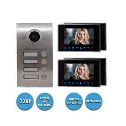 VIDEO INTERCOM SYSTEM KIT/VIDEO INTERCOM KIT CONDO 4 APTS