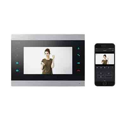 Video Intercom kit with call forwarding on your smartphone