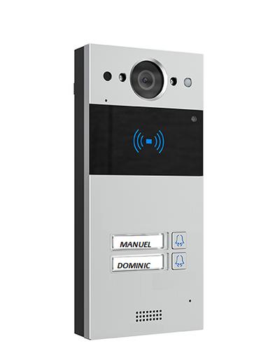 Akuvox Doorphone Canada 2 buttons SIP Surface Mount with Rain Hood