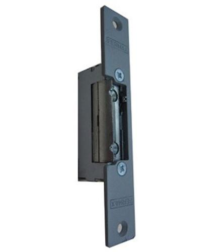 Door strike for wood door frame