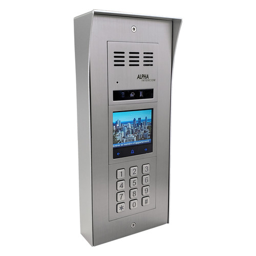 Audio Intercom Panel Isimple with Keypad and Name Directory