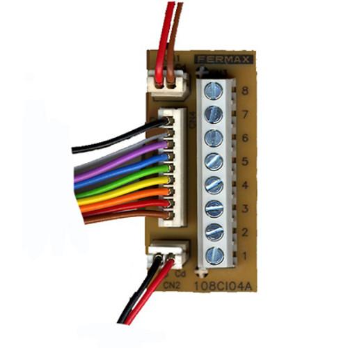 Intercom 1+1 Bloc de diodes