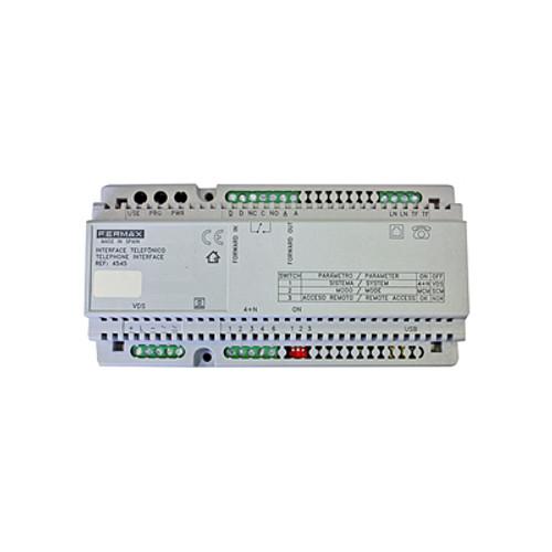 Intercom system to entry phone system converter