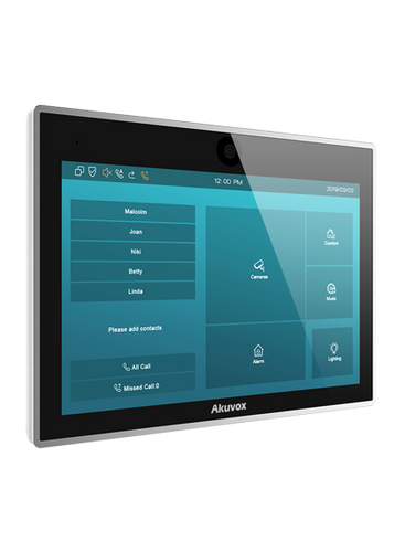 """Akuvox IT83 10"""" Android indoor monitor"""
