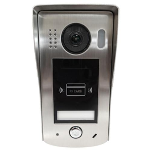 Isimple video intercom panel with proximity reader