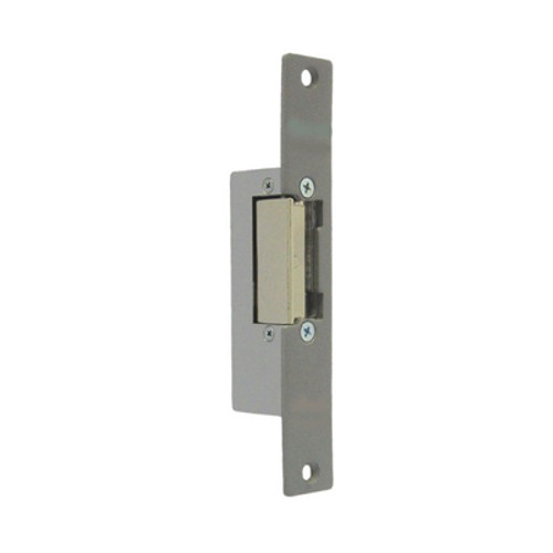 Fail-secure electric door strike with closed or open door warning 12V AC/DC