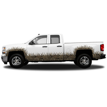 REGULAR CAB- WHEEL WELLS AND ROCKER PANEL CAMO GRASS