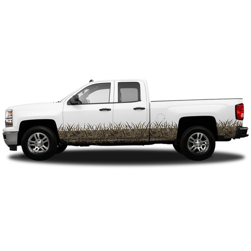 REGULAR CAB- ROCKER PANEL CAMO GRASS