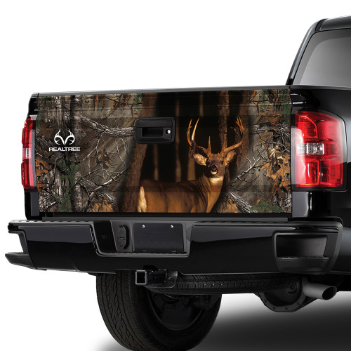 WHITETAIL TAILGATE GRAPHIC- REALTREE XTRA CAMO
