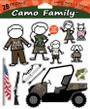 CAMO FAMILY LARGE