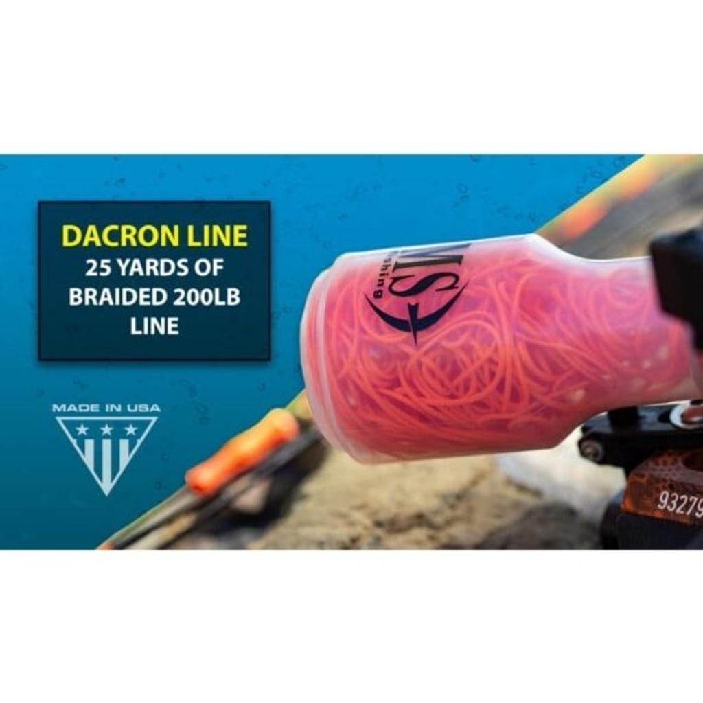 AMS Bowfishing Retriever® Pro Bowfishing Reel Dacron Line