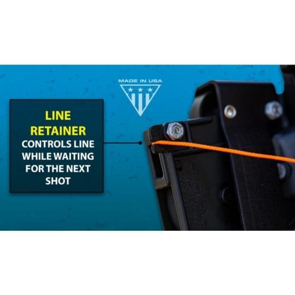 AMS Bowfishing Retriever® Pro Bowfishing Reel Line Retainer