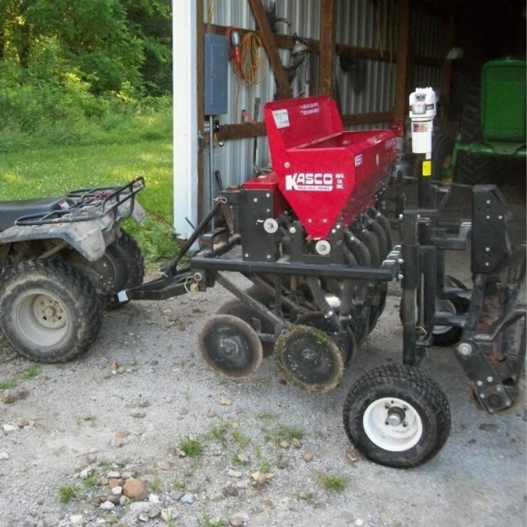 Plotters Choice ATV Drill/Seeder With 12 Volt Lifting Mechanism