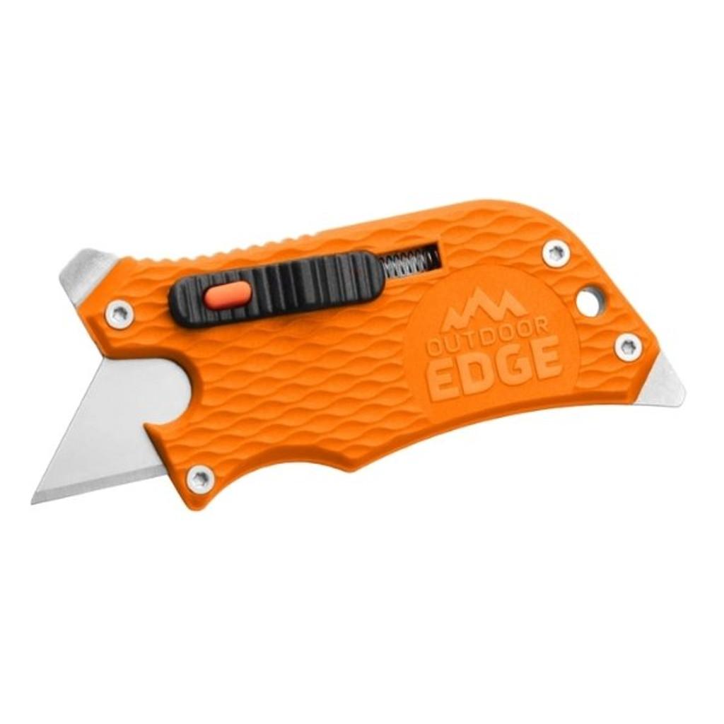 Outdoor Edge SlideWinder Utility Knife - Orange
