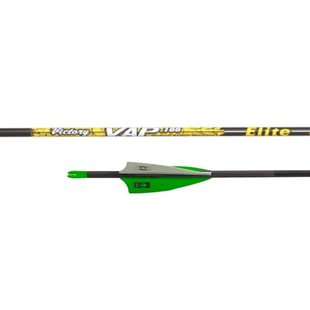 Victory VAP Elite Arrow Fletched With 3'' Vanes With Helical (6 pack)
