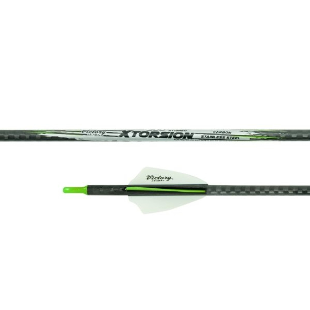 Victory Xtorsion SS Hybrid Arrow Fletched With Fusion Vanes (6 pack)