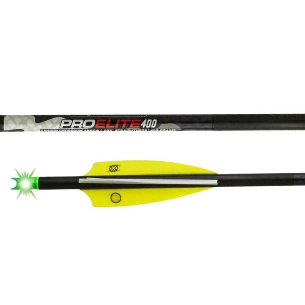 Tenpoint Lighted Pro Elite 400 Carbon Crossbow Arrows