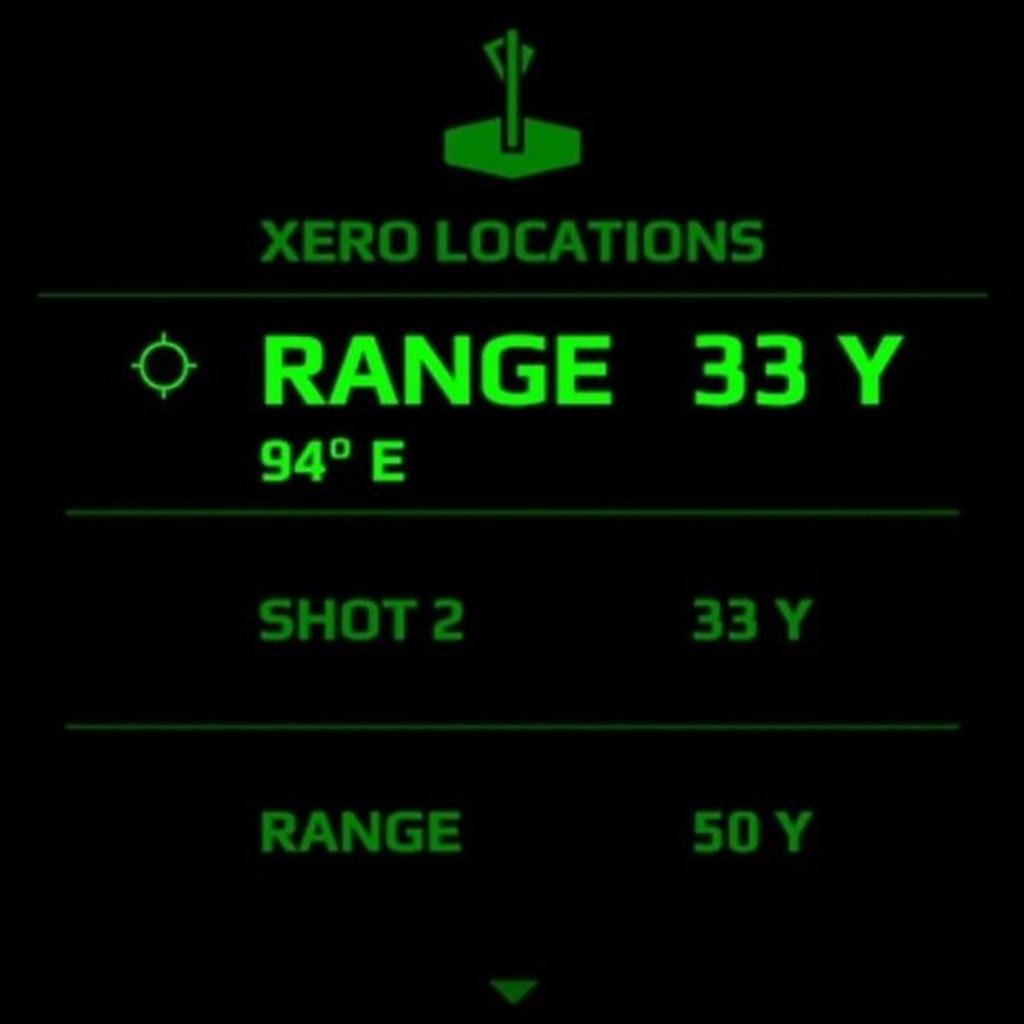 Garmin X1i Crossbow Scope Laser Locate Feature