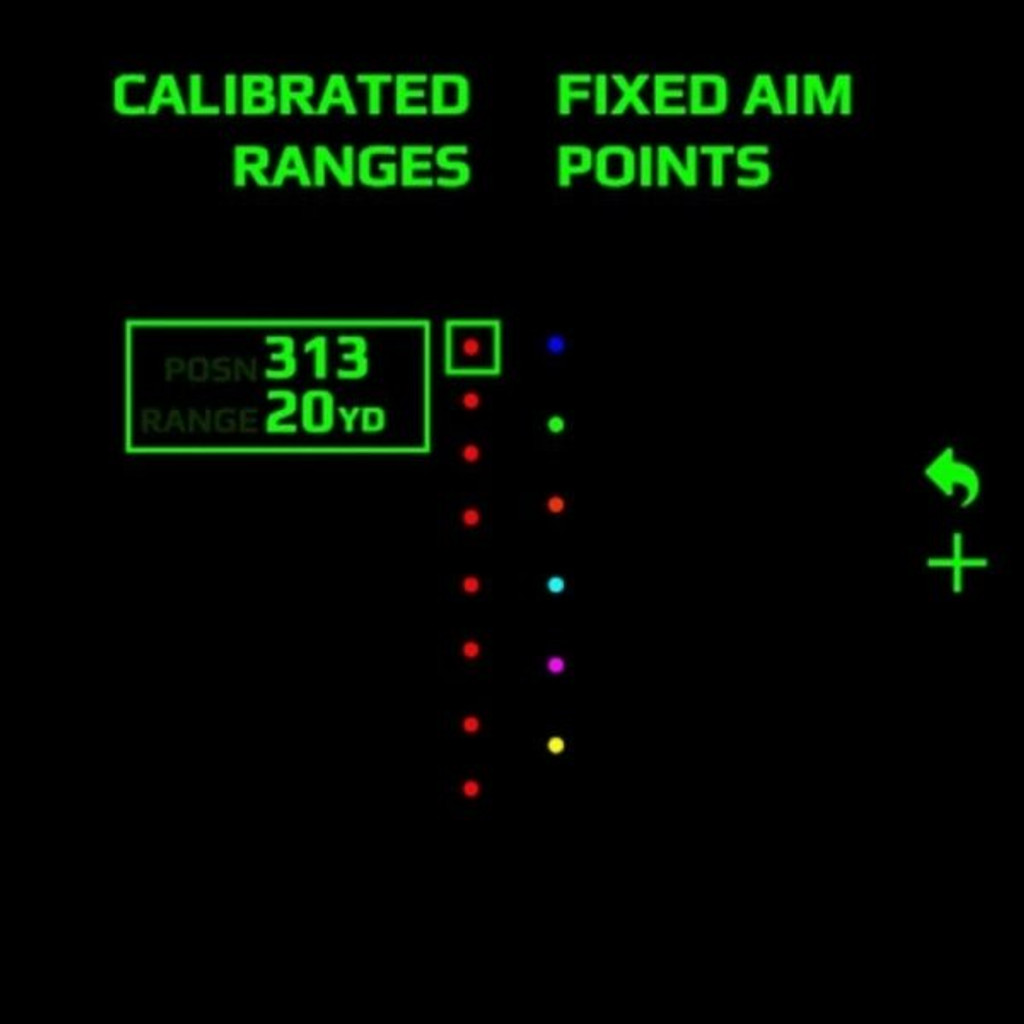 Garmin X1i Crossbow Scope Custom Bolt Profiles