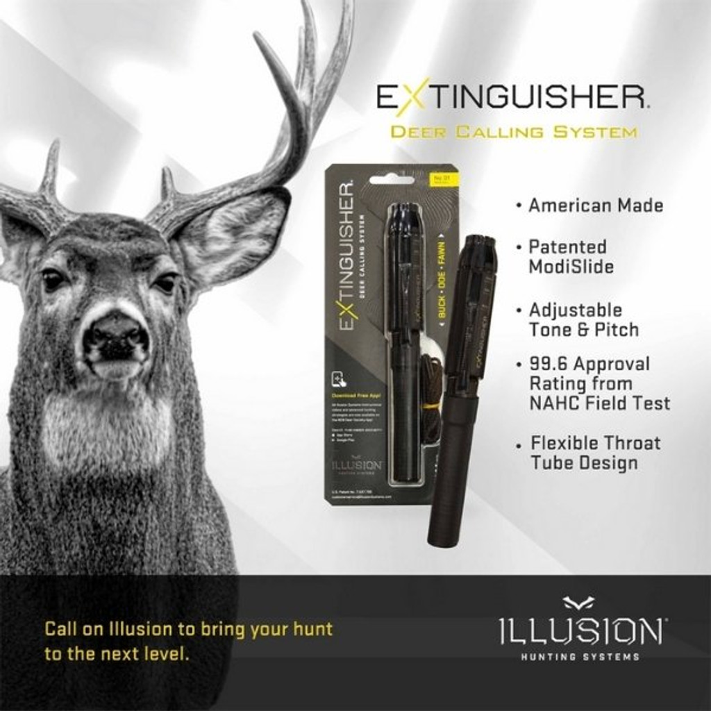 Illusion Extinguisher Deer Call