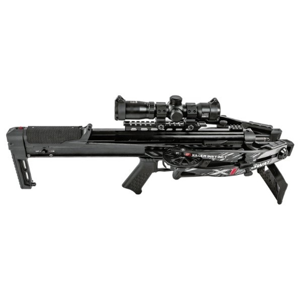 Killer Instinct Swat X1 Crossbow Kit With Crank And Hand Sled