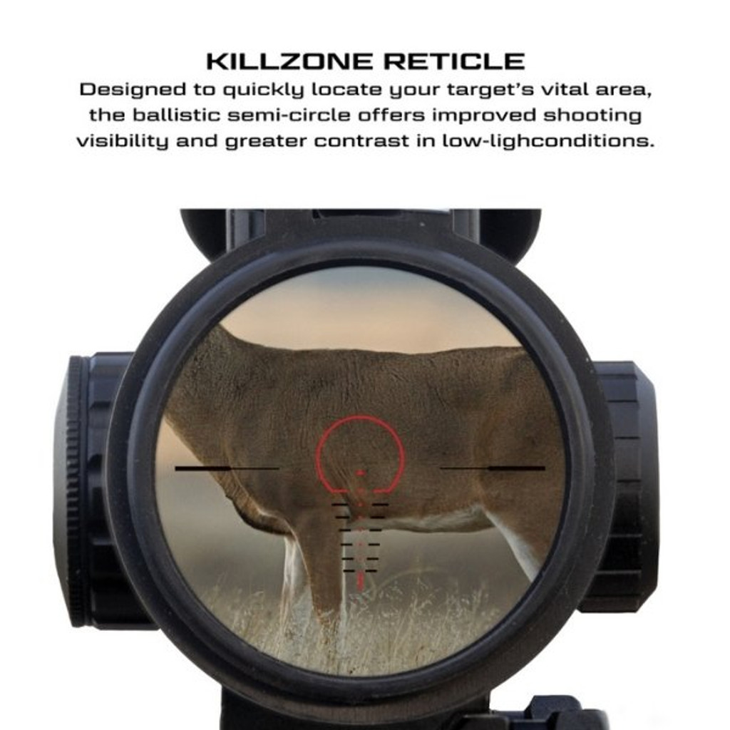 Killer Instinct Swat X1 Crossbow Kit With Crank And Hand Sled Killzone Reticle