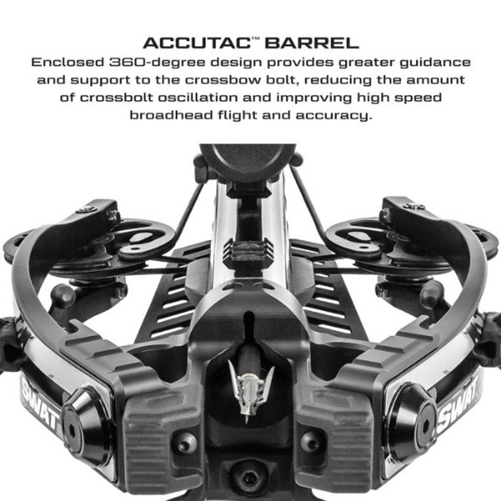 Killer Instinct Swat X1 Crossbow Kit With Crank And Hand Sled Accutac Barrel