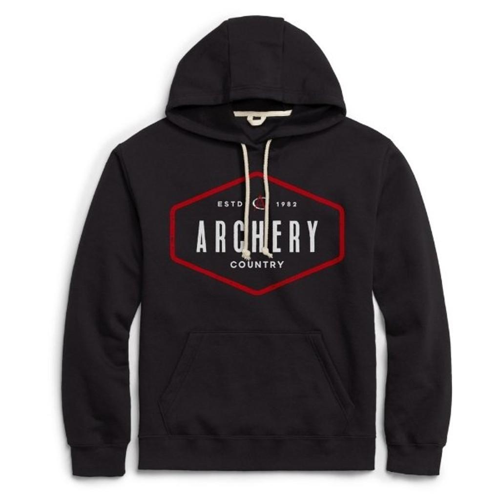 Archery Country Black Fleece Hoodie