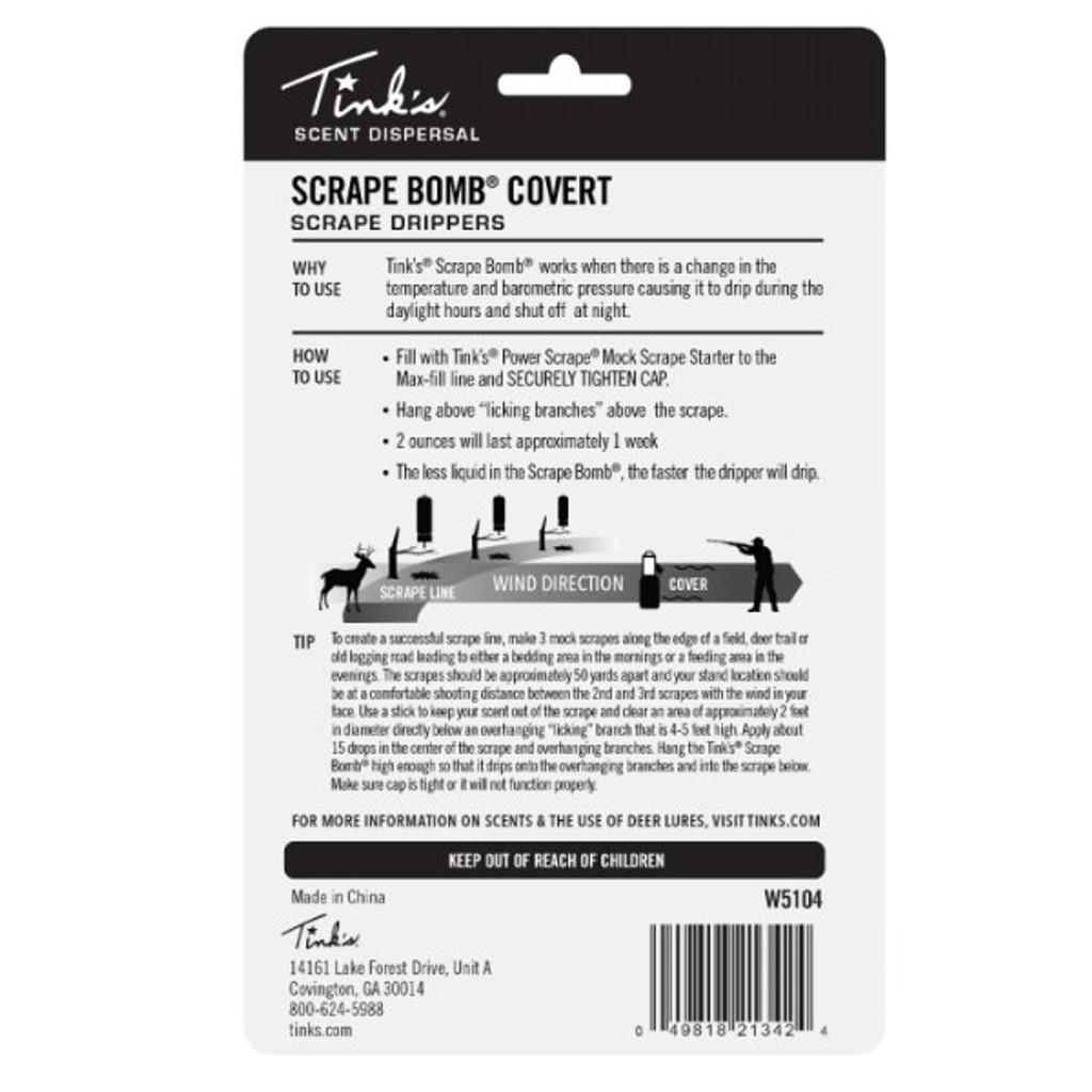 Tink's Covert Brown Scrape Bomb Scrape Dripper