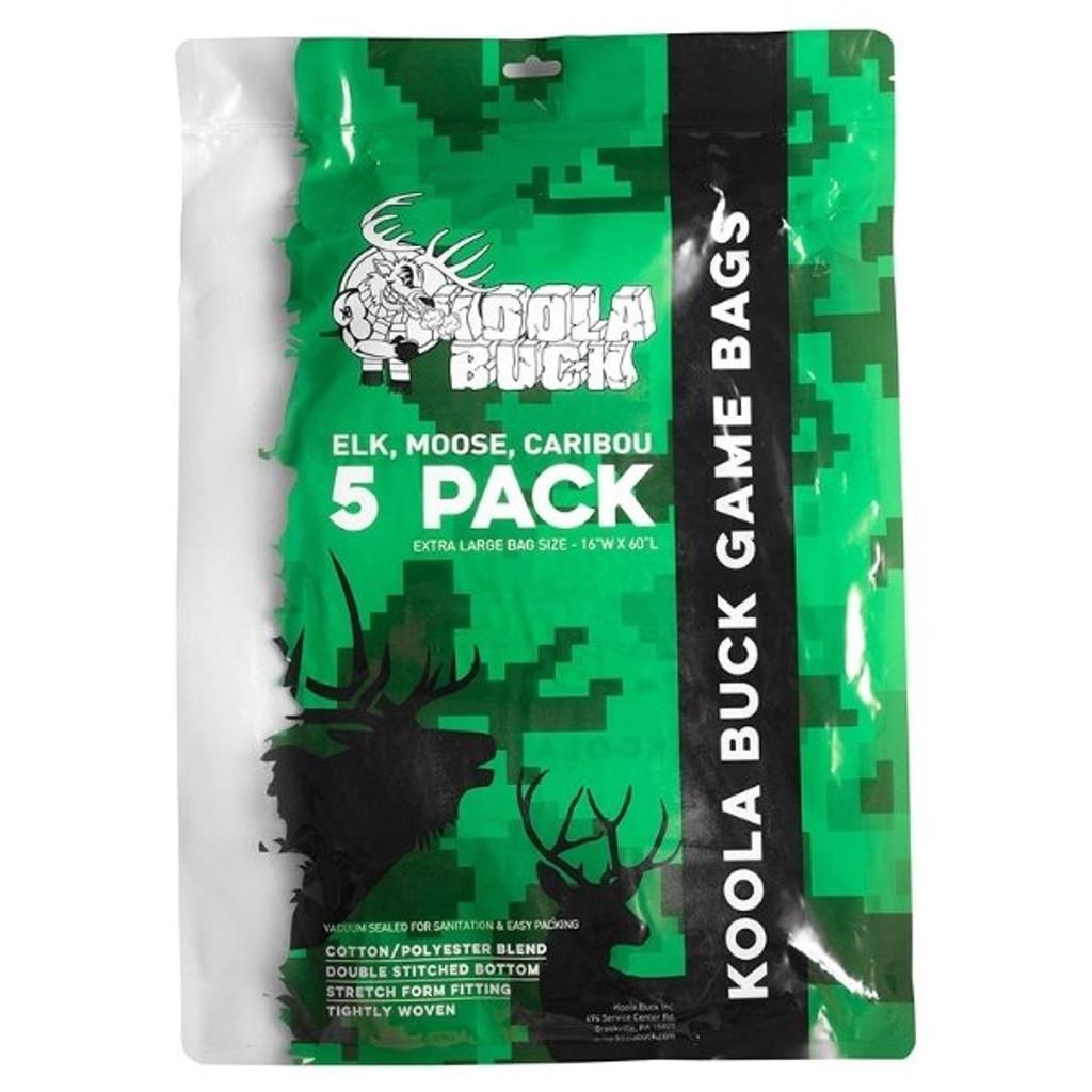Koola XL Game Bags For Elk, Moose & Caribou (5 pack)